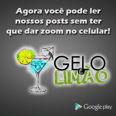 App do Gelo e Limão