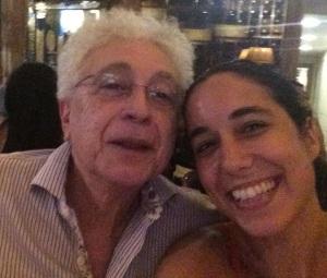 Aguinaldo Silva e Renata Dias Gomes (Foto: Arquivo pessoal)