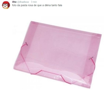 pasta rosa a verdadeira